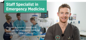 Staff Specialist Emergency Medicine